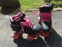 Roller boots child's size 2