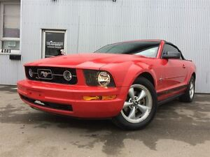 2007 Ford Mustang V6, LEATHER & HEATED SEATS.