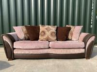 DFS large 3 seater sofa £160 (Can Arrange Delivery)