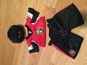 Build a Bear NHL Senators outfit