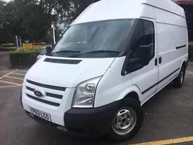 2013 63 Ford transit 125 Trend Lwb High roof FULL FORD SERVICE HISTORY
