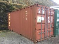 20ft steel container