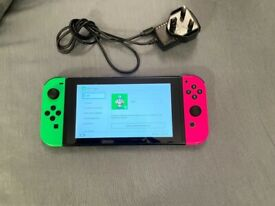USED NINTENDO SWITCH,FULL WORKING ORDER, CONSOLE AND CHARGER ONLY, £170 NO OFFERS, CAN DELIVER