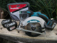 Professional Makita 18v Cordless Circular Saw BSS610! Full Working Order! Extras available!