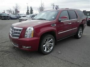 2014 Cadillac Escalade Platinum|NAV|DVD|Camera|Sunroof|REM Start
