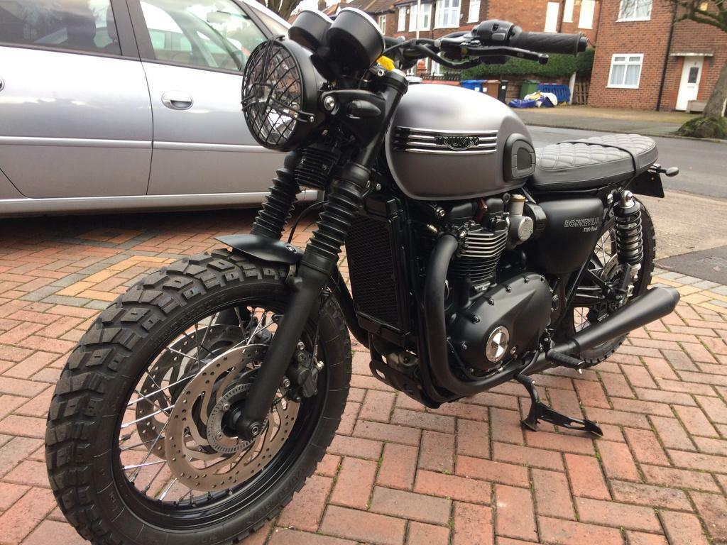 Triumph Bonneville T120 Custom Tracker In Stockport Manchester