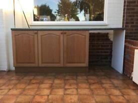 Free Kitchen units and work top