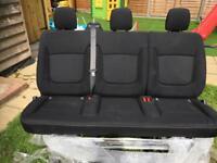 Rear seat unit. Vauxhall/Renault trafic