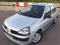 Renault cleo 1.4 Petrol automatic HPI clear mot 29/nov/17