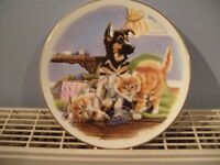 Royal Albert Bone China Plate (PLAYFULL FRIENDS ALL TIED UP) 8""