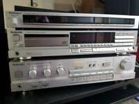 Vintage TECHNICS amp cd player tuner