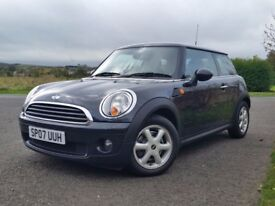 STUNNING MINI ONE 1.4L Genuine low miles LONG MOT **MUST BE SEEN**