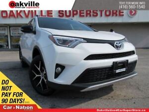 2016 Toyota RAV4 SE | AWD | LEATHER | SUNROOF | NAVI | B/U CAM