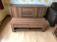 Walnut TV Cabinet * free furniture delivery *