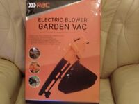 """NEW"" BOXED ELECTRIC GARDEN BLOWER/VAC ***4 x AVAILABLE***"