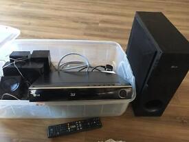 LG BDH9000 5.1 surround sound