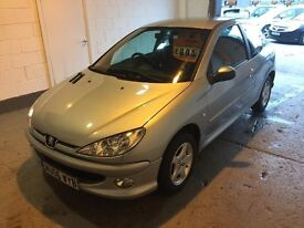 Peugeot 206 verve. 2006, low miles, full mot.
