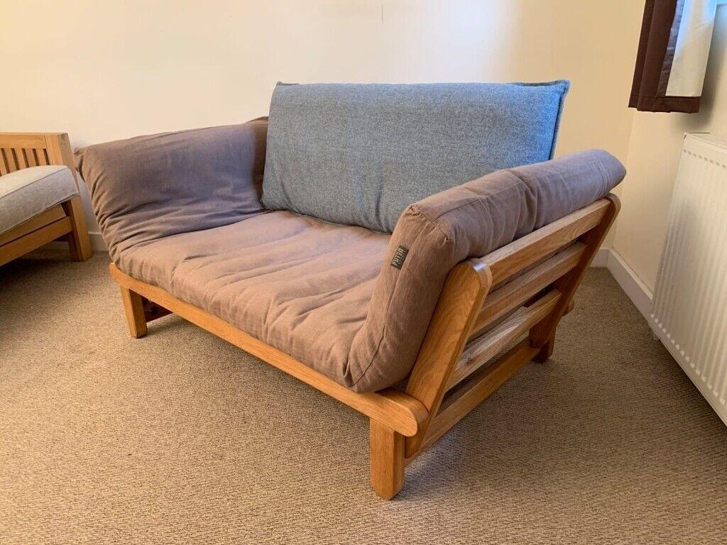 Oak Frame Sofabed Futon Company Twingle