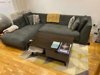 Habitat Forde Chaise Sofa in Great Condition
