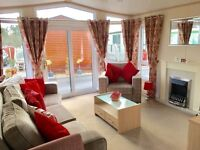 Superby family static caravan for sale at Regent Bay Holiday Park 12 month park