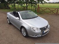 2006 (56) VW Eos 2.0 TDI DSG COUPE CONVERTIBLE FULL LEATHER 82,000 MILES