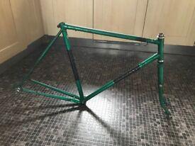 Vintage BSA Sportsman bike frame & pannier rack - FREE!