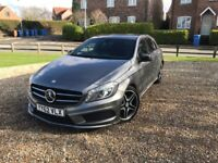 Mercedes-Benz A180 CDI BlueEFFICIENCY AMG Sport 5dr Night Package FSH £20 Road Tax 2 Owners