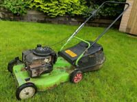 Petrol Lawn Mower, ALCO Guardsman rotary lawn mower with 3.5hp Briggs & Stratton engine