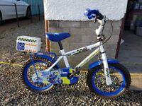 Kid's Apollo Police Bicycle and Kiddimoto Police Helmet