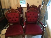 French style chairs (reburb project)