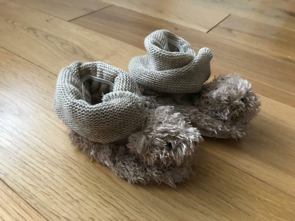 Brand New Brown Bear Booties