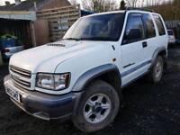 Izuzu trooper 4x4 3.0 Duty swb 2002 auto
