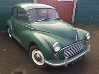 Morris Minor 1965 11 Months MOT classic car