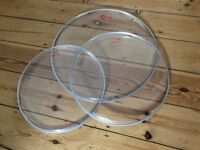 14, 15, 18 inch Percussion Plus Clear Snare/Tom Drum Head Skins