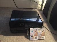 Epson XP-510 printer, scanner, copier, WiFi connectivity + new ink cartridges