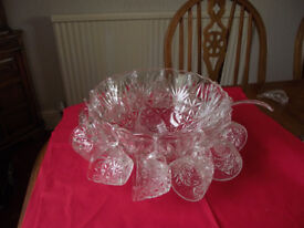 Reduced to sell. Arlington punch bowl set