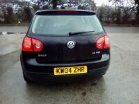 Vw golf 1.9 tdi se 5 door hatchback 04 reg no mot full service history
