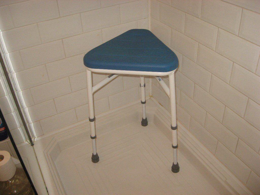 Triangular Shower Stool | in Colchester, Essex | Gumtree