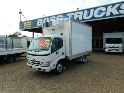 2011 Hino 614 Refrigerated Chiller Rocklea Brisbane South West Preview