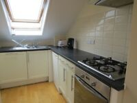 One bedroom newly decorated top floor conversion flat in Nether Street near tube and shops