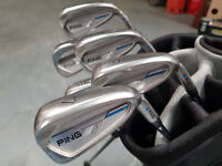 Ping E1 I Irons Golf Clubs