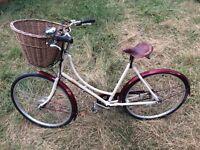 Women's Bike - Pashley Sonnet Bliss - 3 speed - Sturmey Archer Hub Gear & Brakes