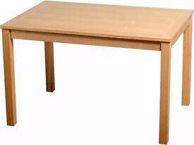 Seconique Oakmere Dining Table, Natural Oak