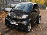 2007 SMART FORTWO BRABUS COUPE 0.7 PETROL AUTOMATIC GOOD DRIVE MOT CHEAP CAR NOT FOR TWO ROADSTAR