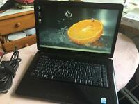 very fast reliable DELL INSPIRON matte black core to duo DVD webcam excel condition NO OFFERS