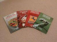 Great Marques - Porsche, MG, Ferrari and Jaguar - 4 books