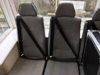 VW Transporter Seats, double and single set