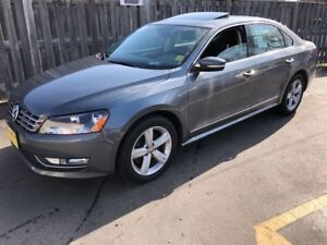 2013 Volkswagen Passat Comfortline, Automatic, Leather, Sunroof,