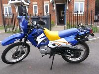2006 DZ125 URBAN WITH A NEW MOT AND IN AMAZING CONDITION