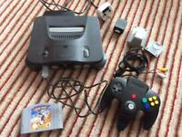 N64 Bundle with Star Wars Rogue Squadron